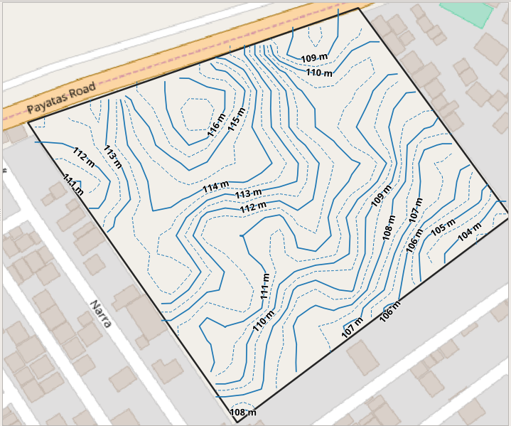 QGIS Map Canvas