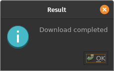 SRTM download success