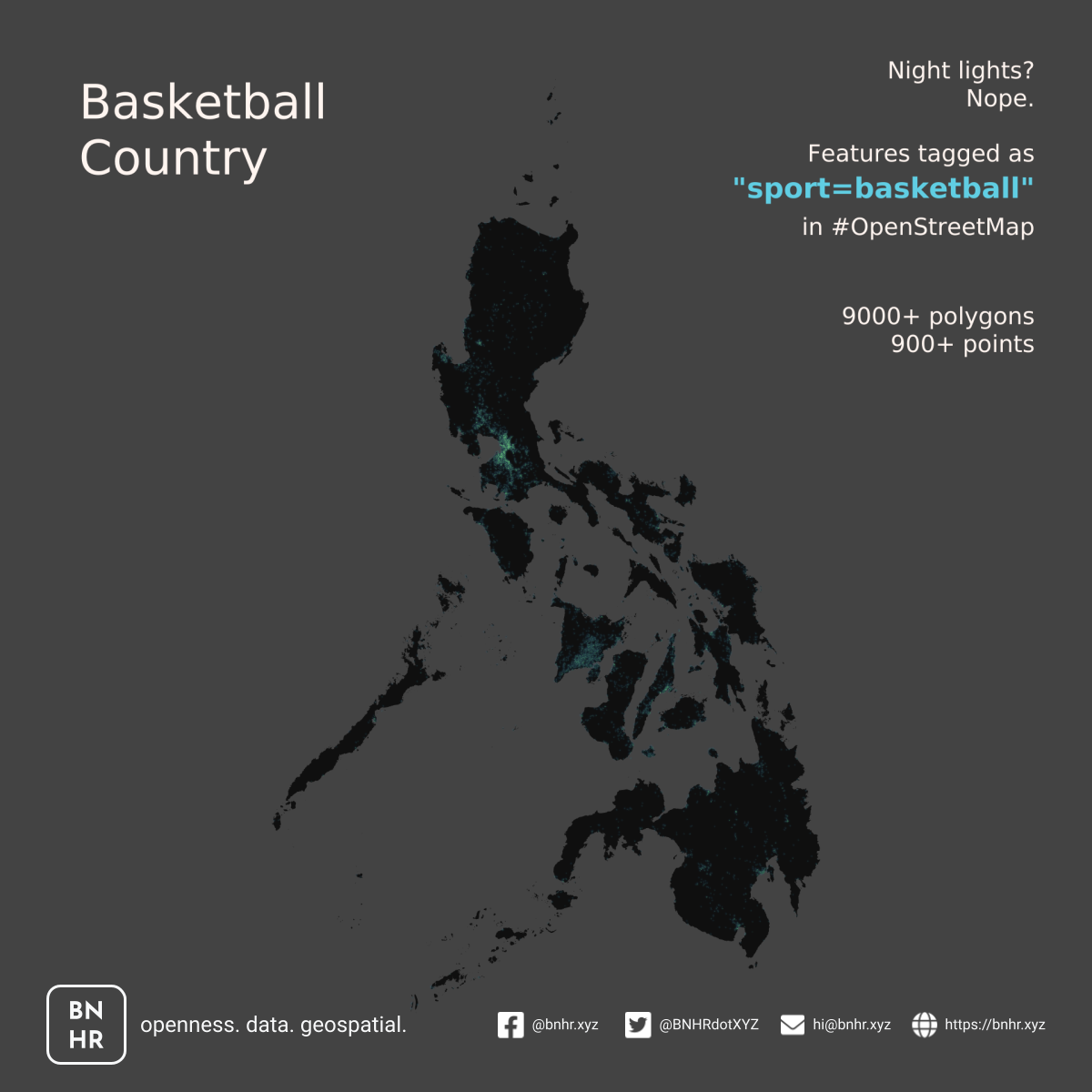 features tagged as sport=basketball in OSM